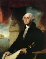 George Washington(The Constable-Hamilton Portrait) - Gilbert Stuart Oil Painting