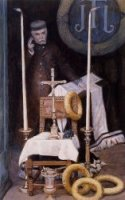 Portrait of the Pilgrim - James Tissot oil painting