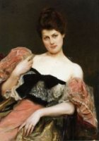 Portrait of a Lady - Oil Painting Reproduction On Canvas