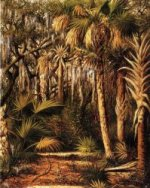 Palm Hammock with Epiphytes - William Aiken Walker Oil Painting