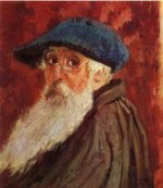 Self Portrait III - Camille Pissarro Oil Painting