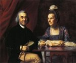 Mr. and Mrs. Isaac Winslow (Jemina Debuke) - John Singleton Copley Oil Painting