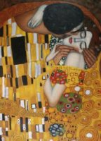 The Kiss III - Oil Painting Reproduction On Canvas Gustav Klimt Oil Painting