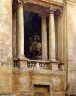 A Window in the Vatican - John Singer Sargent Oil Painting