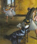 The Ballet Class - Edgar Degas Oil Painting