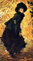 October - Oil Painting Reproduction On Canvas