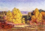 The Poplars - Theodore Clement Steele Oil Painting