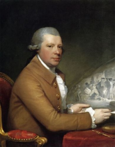 John Hall - Gilbert Stuart Oil Painting