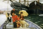Portsmouth Dockyard - Oil Painting Reproduction On Canvas