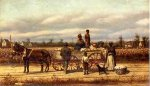 Noon Day Pause in the Cotton Field - William Aiken Walker Oil Painting