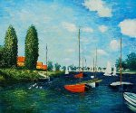 Argenteuil II - Claude Monet oil painting