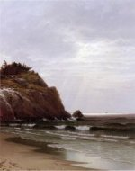 Coastal View, Newport - Alfred Thompson Bricher Oil Painting