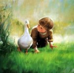 Just Ducky - Donald Zolan Oil Painting