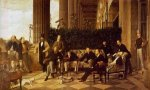 The Circle of the Rue Royale - James Tissot oil painting