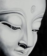 Buddha - Oil Painting Reproduction On Canvas