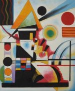 Balancement (Swinging) - Wassily Kandinsky Oil Painting
