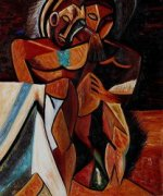 Lamitie 1908 - Pablo Picasso Oil Painting
