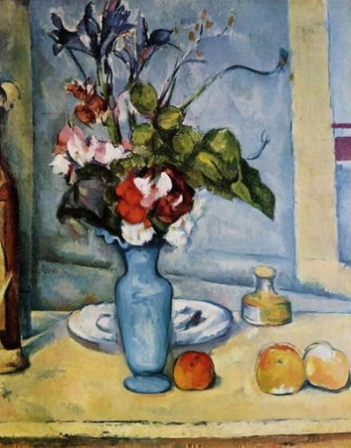 The Blue Vase II - Paul Cezanne Oil Painting