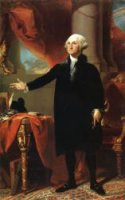 George Washington (The Landsdowne Portrait) - Gilbert Stuart Oil Painting