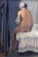 The Valpinçon Bather, 1808 - Oil Painting Reproduction On Canvas