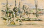 The Chateau de Medan - Paul Cezanne Oil Painting