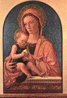 Madonna and Child - Giovanni Bellini Oil Painting