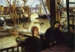 Wapping - James Abbott McNeill Whistler Oil Painting,