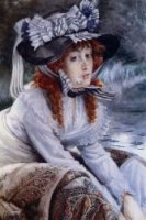 On the River - Oil Painting Reproduction On Canvas