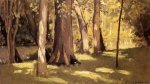 The Yerres, Effect of Light - Gustave Caillebotte Oil Painting