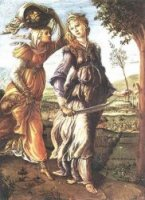 The Return of Judith to Bethulia - Sandro Botticelli oil painting
