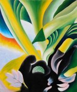 Skunk Cabbage - Georgia O'Keeffe Oil Painting