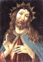 Christ Crowned with Thorns - Sandro Botticelli oil painting