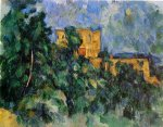 Chateau Noir - Paul Cezanne Oil Painting