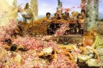 The Roses of Heliogabalus - Sir Lawrence Alma-Tadema oil painting