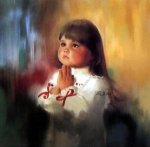 A Christmas Prayer - Donald Zolan Oil Painting