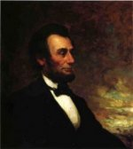 Portrait of Abraham Lincoln - George Henry Story Oil Painting