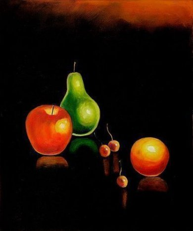 Compare and Contrast - Oil Painting Reproduction On Canvas