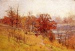 November's Harmony - Theodore Clement Steele Oil Painting