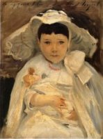 Marian (Madge) Roller - John Singer Sargent Oil Painting
