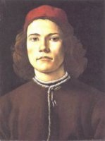 Portrait of a Young Man II - Sandro Botticelli Oil Painting