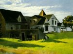 Cape Cod Afternoon - Edward Hopper Oil Painting
