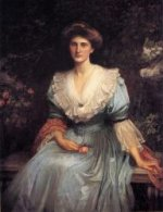 Lady Violet Henderson - Oil Painting Reproduction On Canvas
