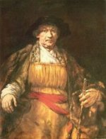 Self Portrait 15 - Rembrandt van Rijn Oil Painting