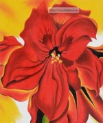 Red Amaryllis by Georgia O'Keeffe