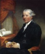 Joshua Reynolds - Gilbert Stuart Oil Painting