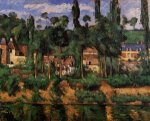 Chateau du Medan - Paul Cezanne Oil Painting