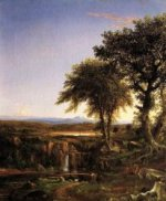 Summer Twilight - Thomas Cole Oil Painting