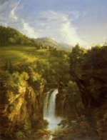 Genesee Scenery - Thomas Cole Oil Painting