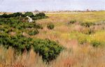 Landscape, near Coney Island - William Merritt Chase Oil Painting