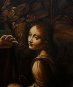 The Virgin of the Rocks - Oil Painting Reproduction On Canvas